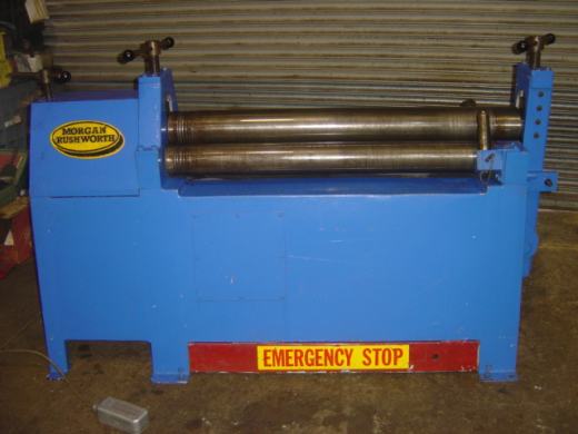 MORGAN PBR 1250/6 BENDING ROLLS