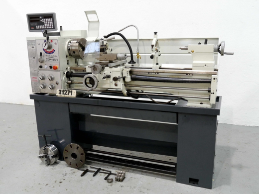GAP BED CENTRE LATHE, SWING OVER BED 360MM, BETWEEN CENTRES 1000MM, SPINDLE SPEEDS 70-2000 RPM, (UNUSED)