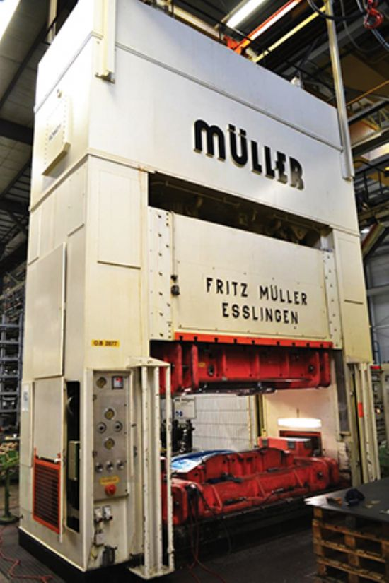 MULLER Hydraulic Double-sided Press