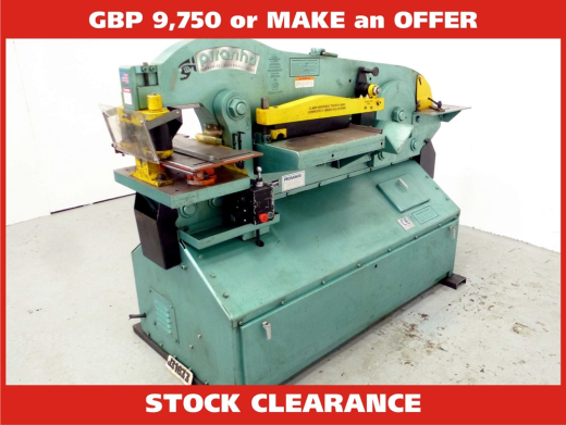 used ironworker machine for sale