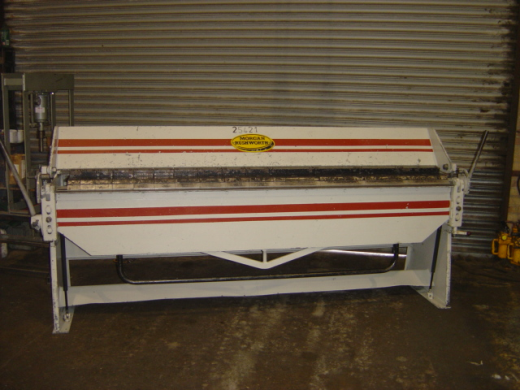 MORGAN RUSHWORTH BPS100/14 BOX & PAN FOLDER for sale : Machinery ...