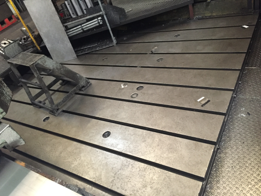 Slotted Floor Plates for sale : Machinery-Locator.com
