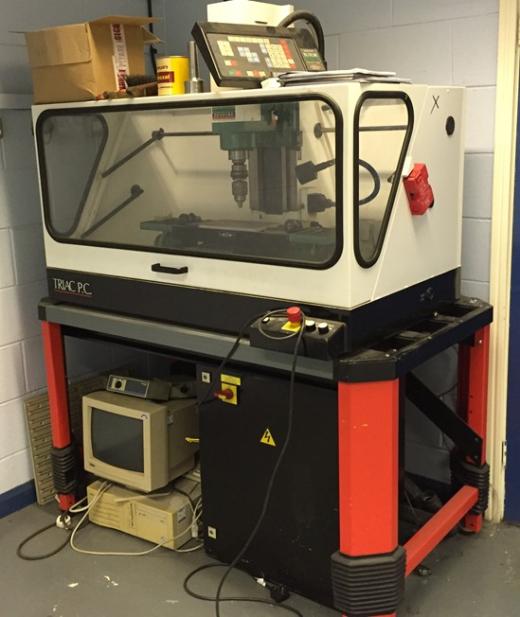 Denford Triac PC, New 1998 for sale : Machinery-Locator.com