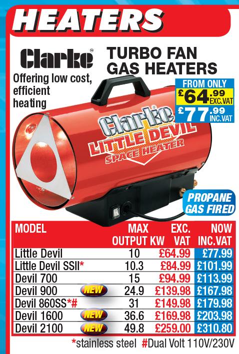 Clarke Heaters for sale : Machinery-Locator.com