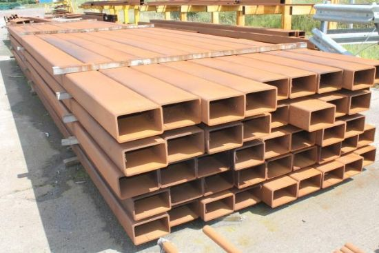 ... LENGTHS OF 250mm x 150mm BOX SECTION for sale : Machinery-Locator.com