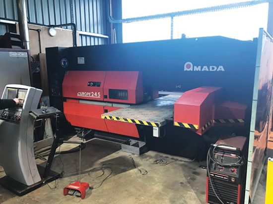 AMADA Europe 245 CNC Punch Press for sale : Machinery-Locator.com