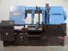 Horizontal double column Bandsaw.  Capacity 500mm dia or 560mm x 500mm.
