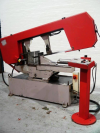 Swivel Frame Horizontal Bandsaw.  Capacity 440mm dia or 400 mm x 610mm