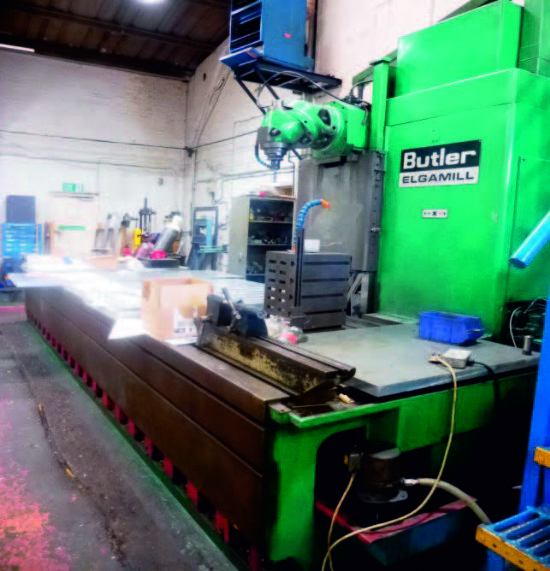 Butler Elgamill Travelling Column Milling Machine with Universal Head ...