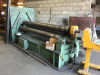 3050mm x 10mm 3 Roll Initial Pinch Hydraulic Bending Rolls. Can be used Horizontally or Vertically