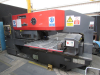 20 Ton, 20 Station, 2 auto index stations CNC Turret Punch.  Fanuc P Control.