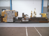 3M between centres Oil Country Lathe with front and rear chucks.