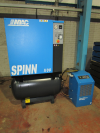 screw type Air Compressor, with air dryer