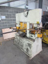 Hydraulic Ironworker with quantity of punches and dies. Serial No. 15206. Manufactured 2007