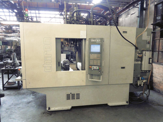 Chiron DZ15 W VMC Twin Spindle, Twin Pallet