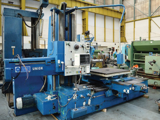 Union BFT 80/2 Horizontal Borer