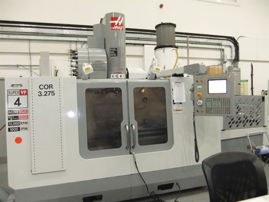 HAAS VF-4 Super Speed Twin-Pallet Vertical Machining Centre