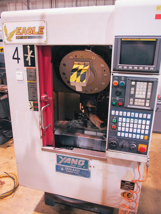 YANG Eagle SMT-500 Drill Tap Centre (1999)